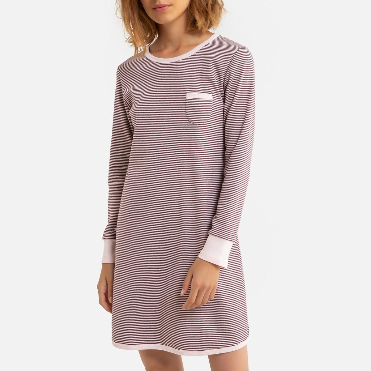 Рубашка LaRedoute — Ночная из хлопка Lonie 48 (FR) - 54 (RUS) другие