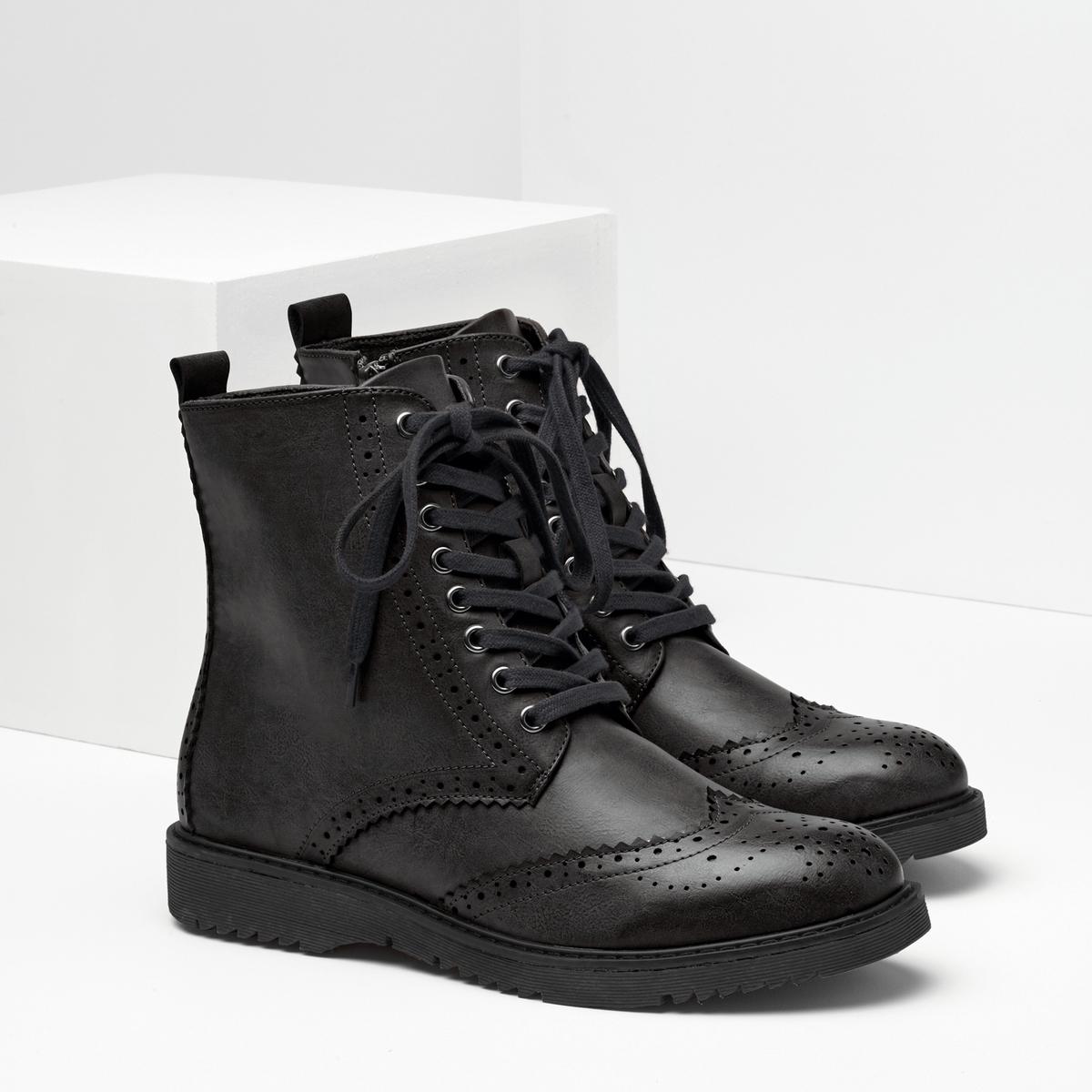 Ботинки синтетические ботинки синтетические