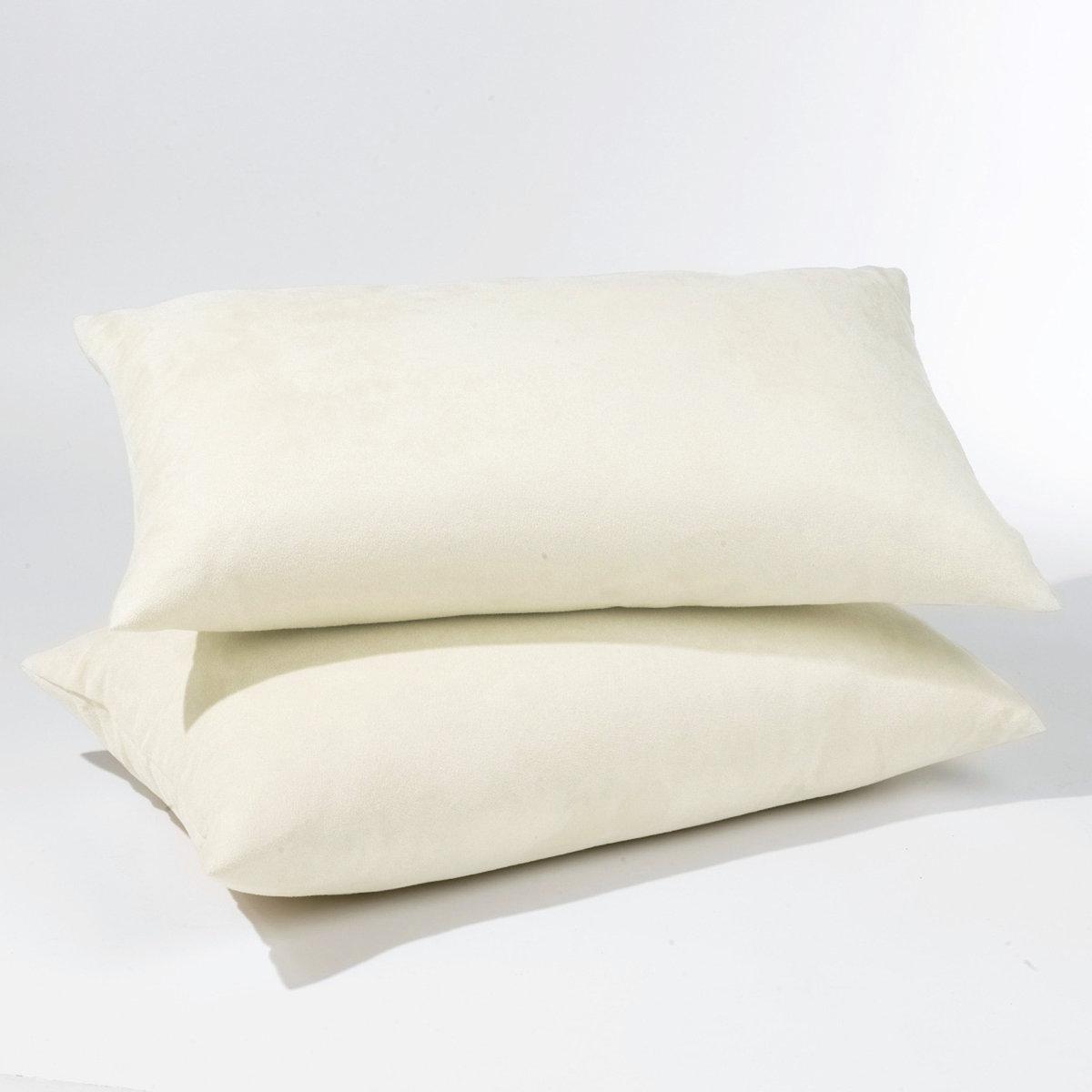 Комплект из 2 чехлов для подушек из поликоттонаХарактеристики чехлов для подушек из поликоттона для раскладных диванов:Качество VALEUR SURE, плотная ткань, 70% хлопка, 30% полиэстера. Скрытая застежка на молнию.  Размеры чехлов для подушек из поликоттона:Аккордеон : 50 x 30 см                                                                                           Книжка : 60 x 40 см<br><br>Цвет: бежевый,гранатовый,серый жемчужный,сине-зеленый,синий индиго,темно-серый,черный,экрю<br>Размер: 60 x 40 см