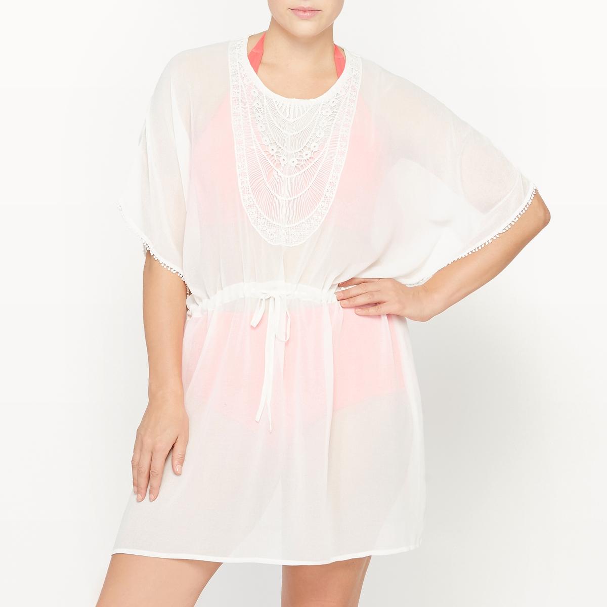 Платье кафтан пляжное