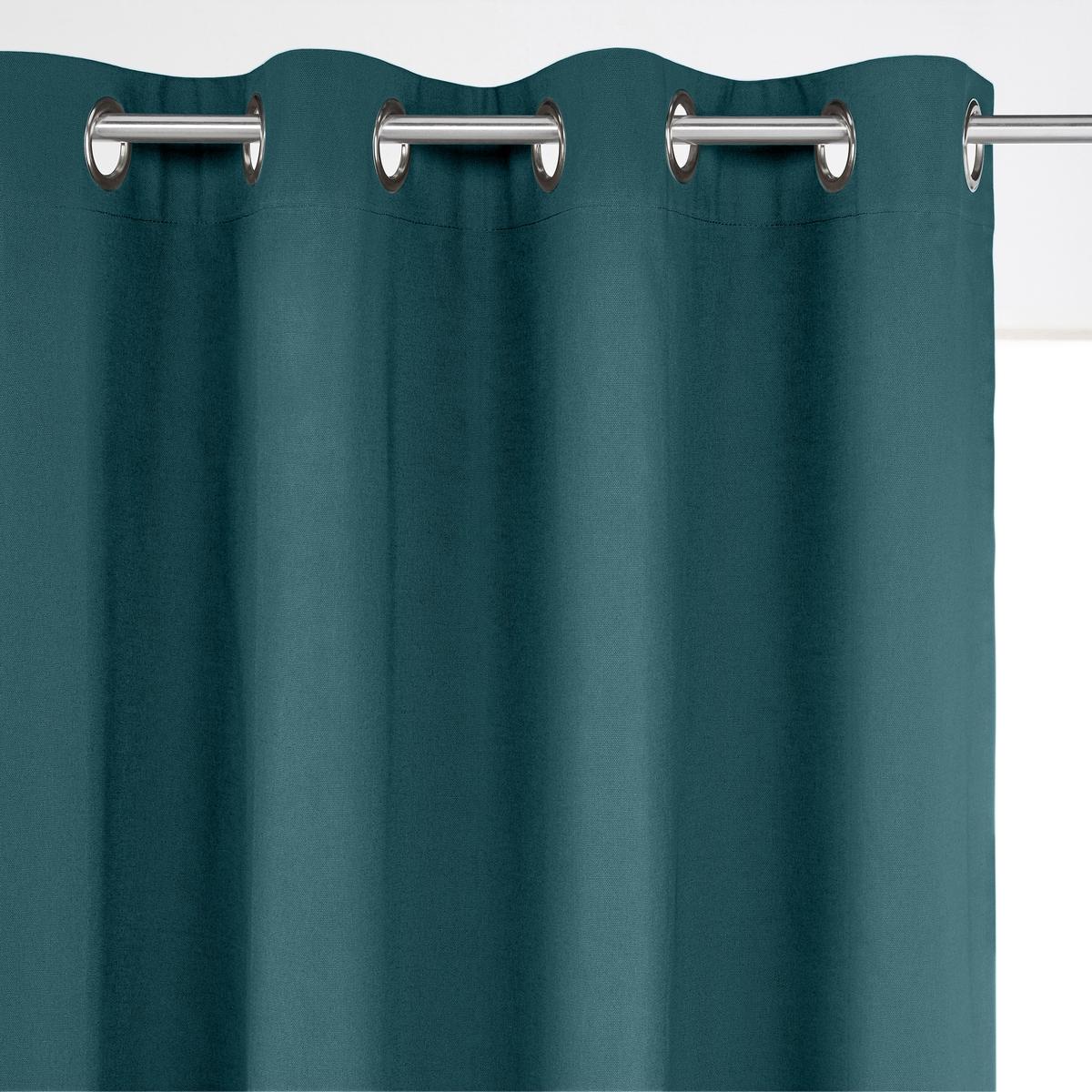 Штора затемняющая 100% хлопок с люверсамиПроизводство осуществляется с учетом стандартов по защите окружающей среды и здоровья человека, что подтверждено сертификатом Oeko-tex®.                                  Размеры:               - 180 x 135 см                - 260 x 135 см          - 350 x 135 см<br><br>Цвет: вишневый,серо-коричневый,серый жемчужный,сине-зеленый,темно-серый