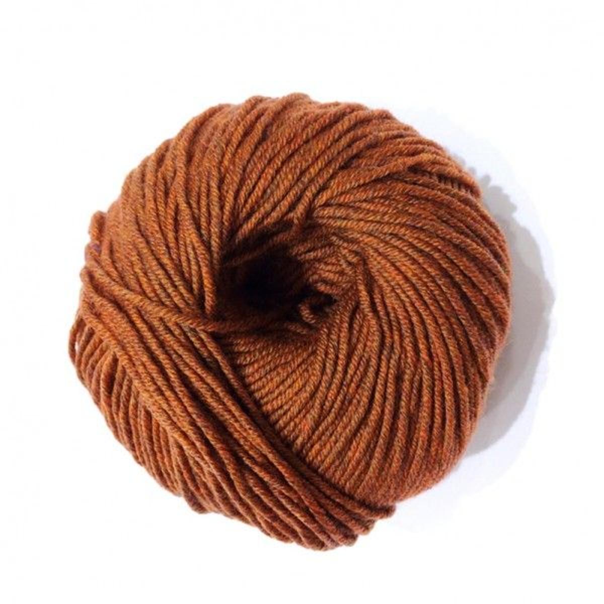 Laine à Tricoter Woolly Heritage De Dmc, Col. Paprika 100