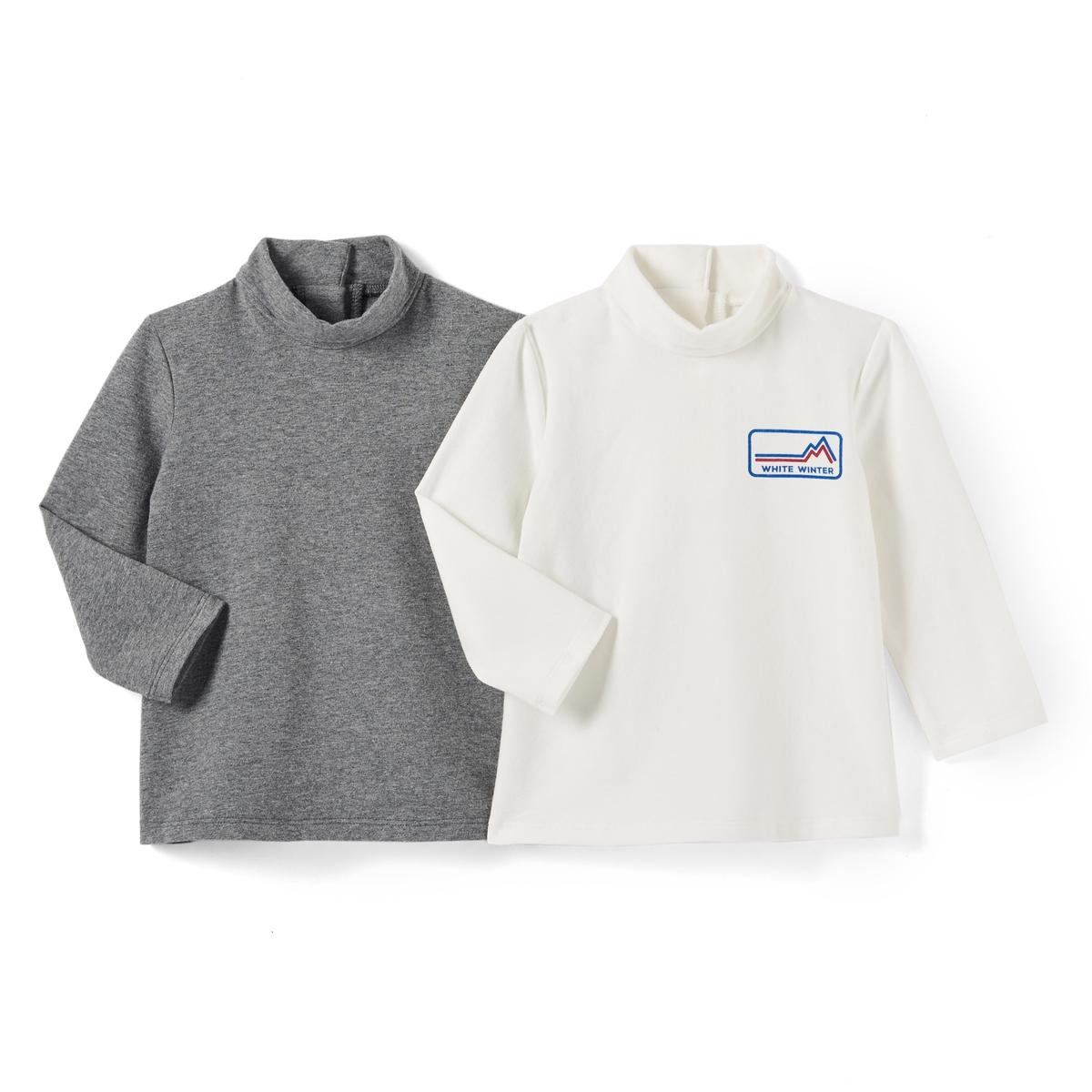 2 футболки-водолазки ML, 1 мес.- 3 лет