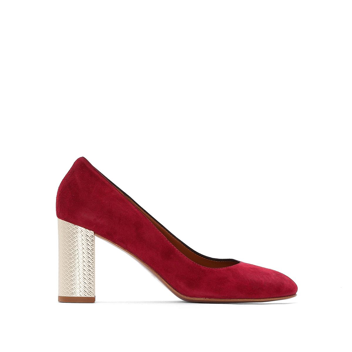 Купить со скидкой Туфли кожаные велюровые Eloana