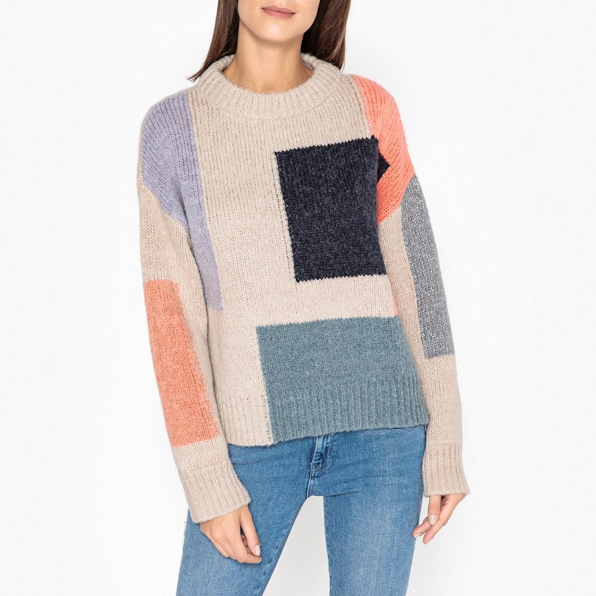 Пуловер с круглым вырезом из трикотажа MIKE mike at wrykyn