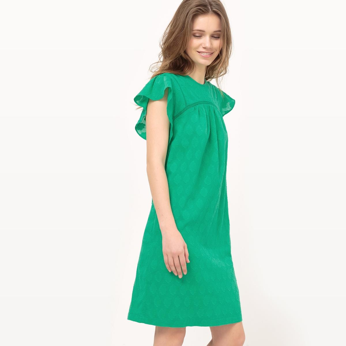 Платье прямое из жаккарда