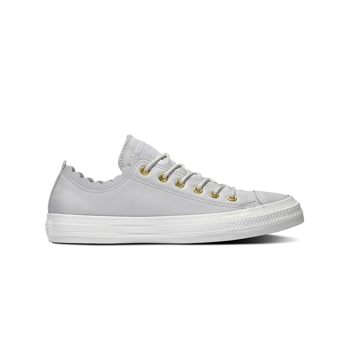 Zapatillas de piel con acabado ondulado CTAS OX