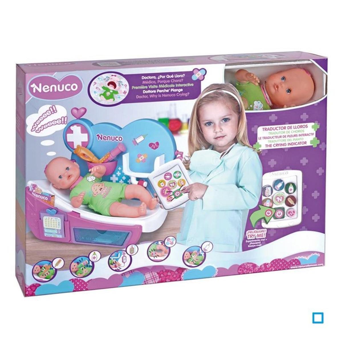 Nenuco Ma Première Visite Médicale Intéractive - FAM700012646