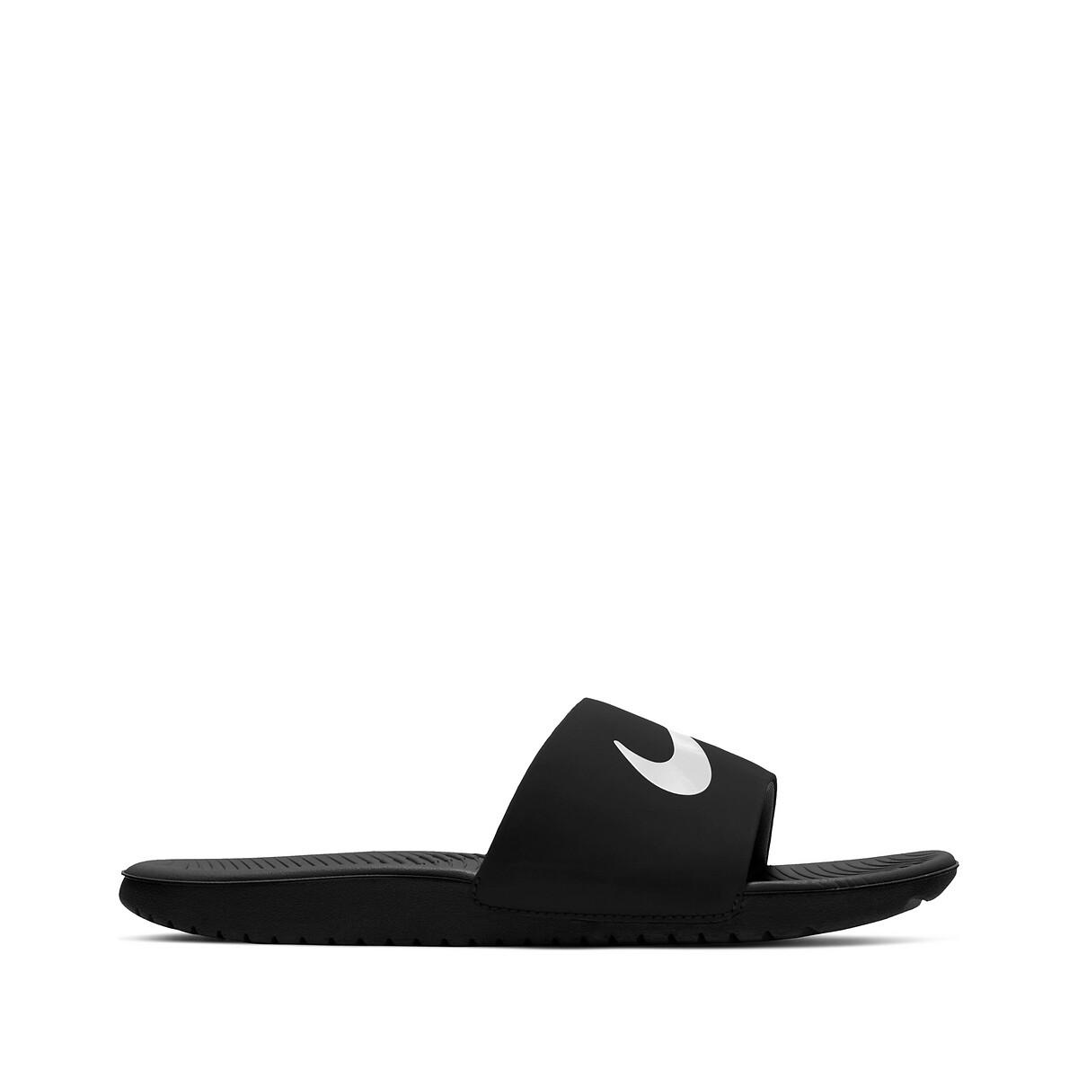 Nike Kawa Slippers Kinderen Black/White Kind online kopen