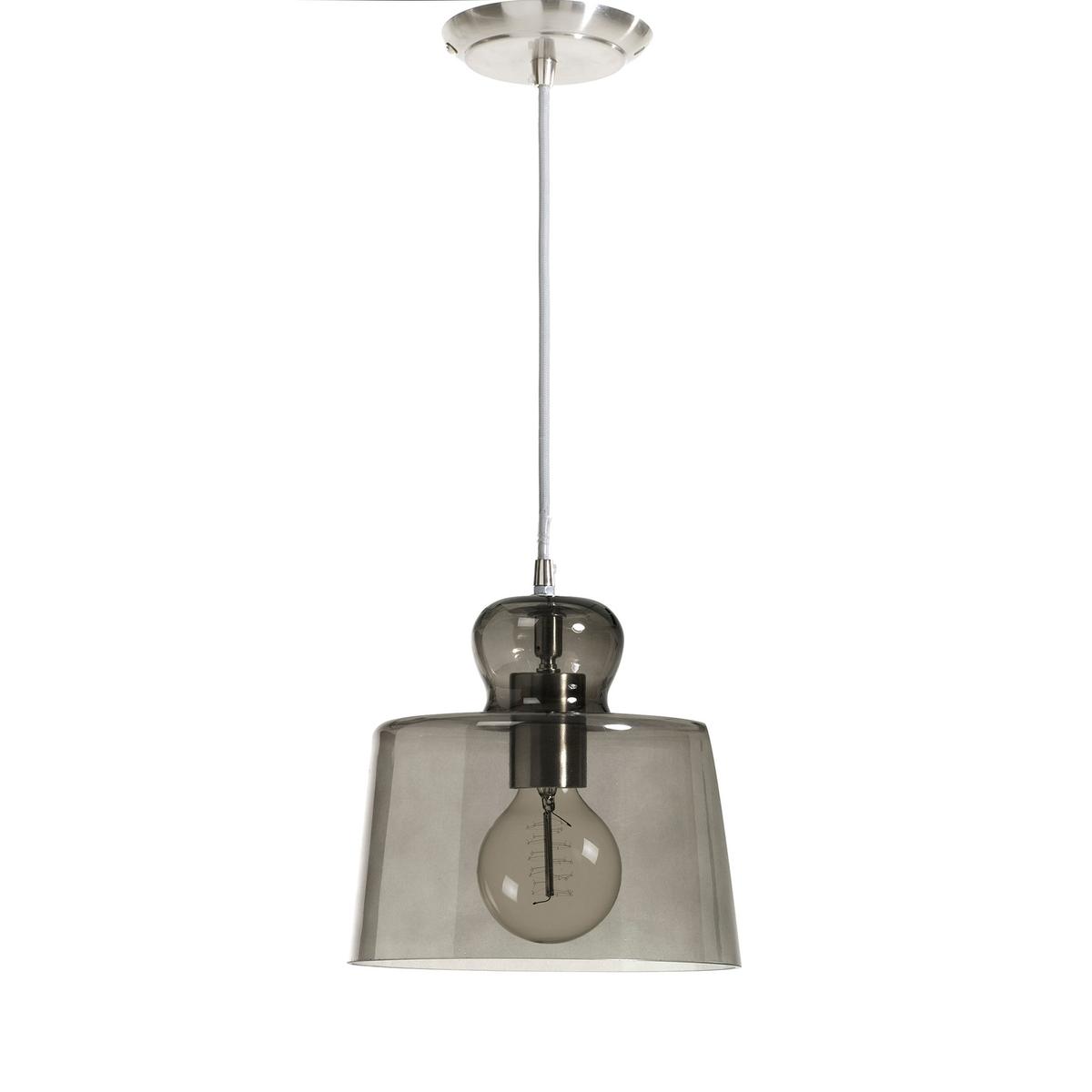 Светильник из прозрачного стекла KlaraЭлегантный светильник из стекла (прозрачный или затемненный).Патрон E27 для лампочки 40W (не входит в комплект)  .Размер. ?22, высота .22 см.<br><br>Цвет: прозрачный