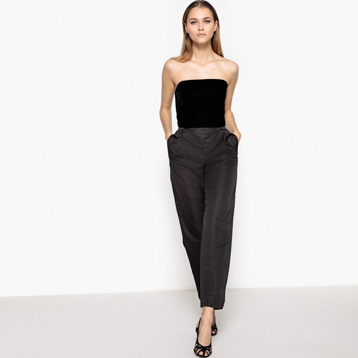 Комбинезон с брюками и открытым верхом