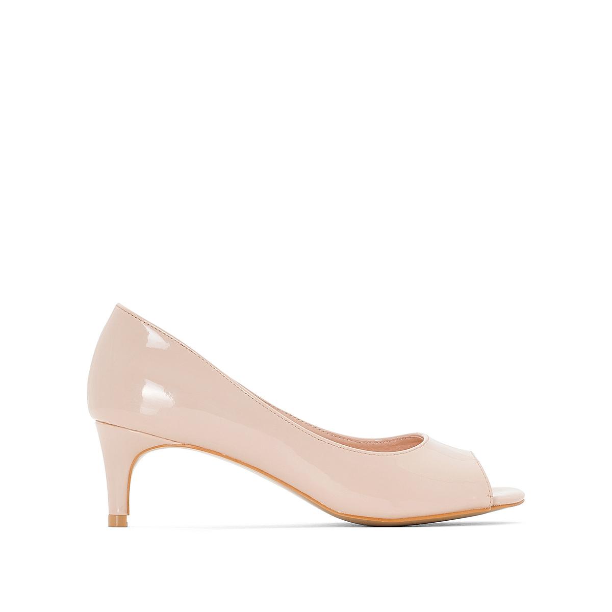 Туфли кожаные с открытым мыском anne weyburn