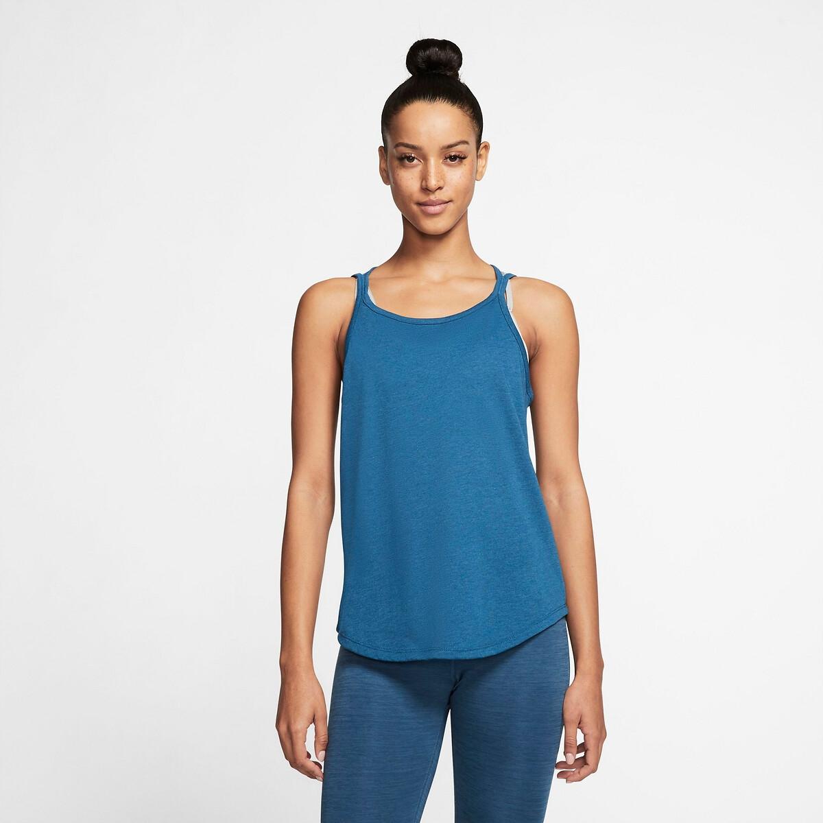 Camiseta de tirantes finos Yoga