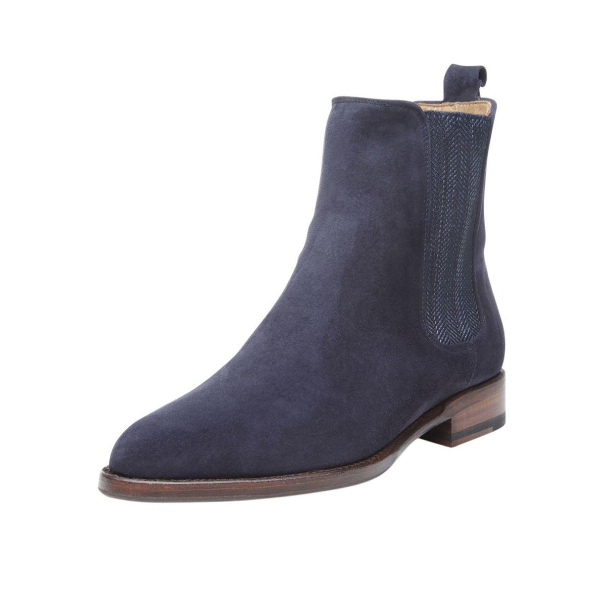 Chelsea Boots  en bleu