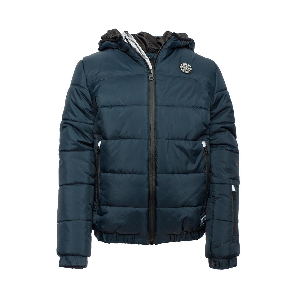 Куртка стеганая с капюшоном, 10-16 лет