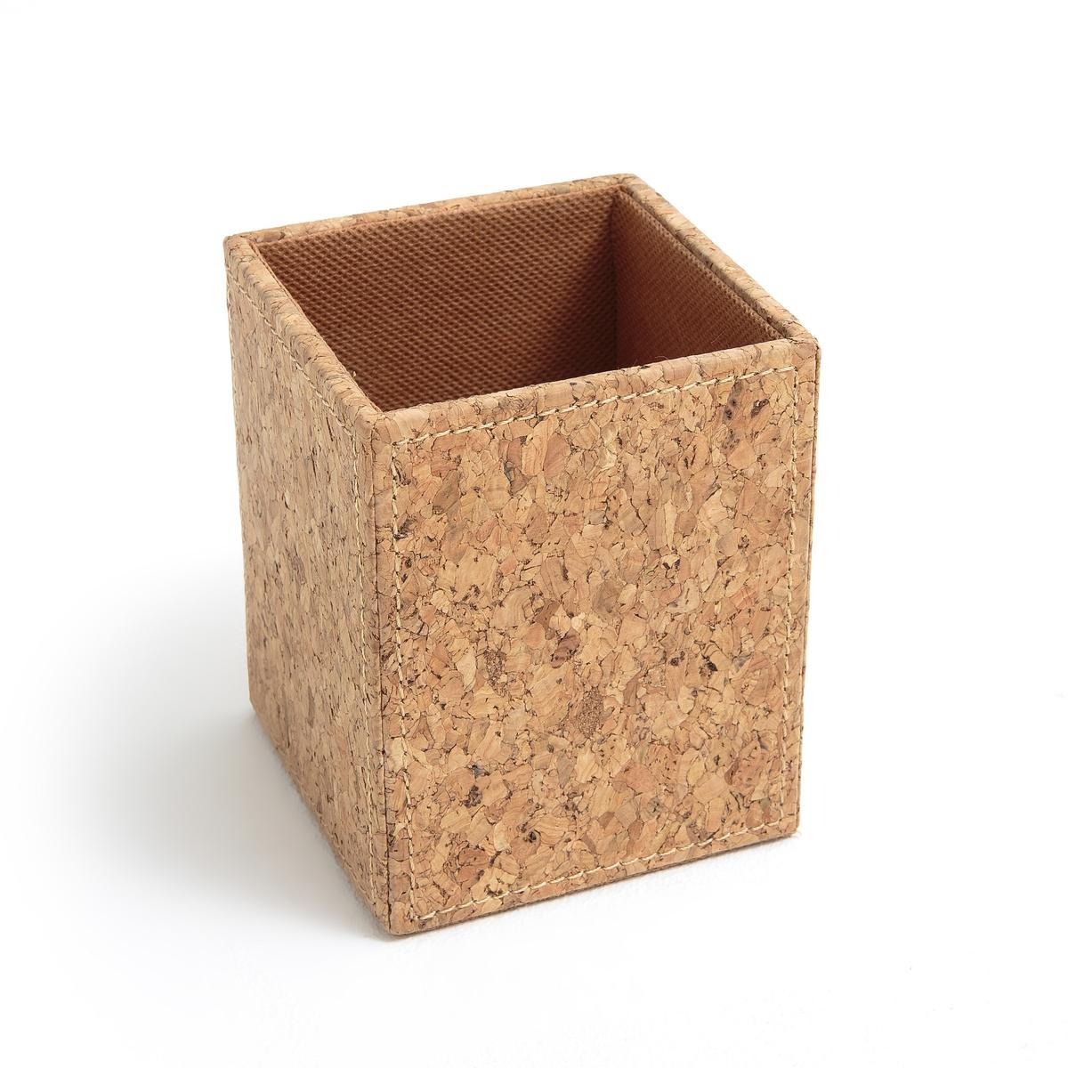 Банка для карандашей из пробкиОписание:Банка для карандашей из пробки . Необходимый аксессуар на письменном столе !Описание банки для карандашей  : Банка из пробкиКаркас из картона Подкладка из полиэстера Размеры :H10,5 x 8,5 x 8,5 см Расцветка : Натуральная Размеры и вес упаковки :11 x 11 x H13 см 400 г<br><br>Цвет: серо-бежевый<br>Размер: единый размер