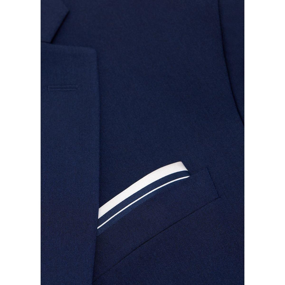 Pochette de costume imprimée soie