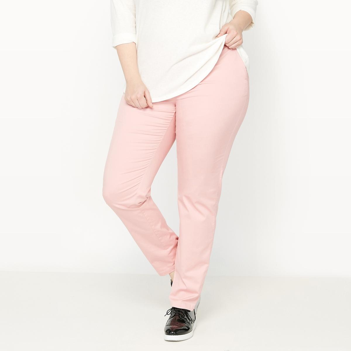 Брюки-чино из хлопка твил брюки из саржи би стрейч длина по внутр шву 78 см