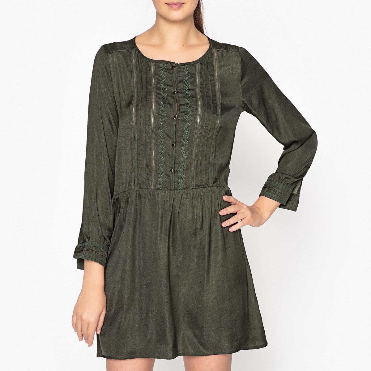 Платье короткое однотонное LANDE цена