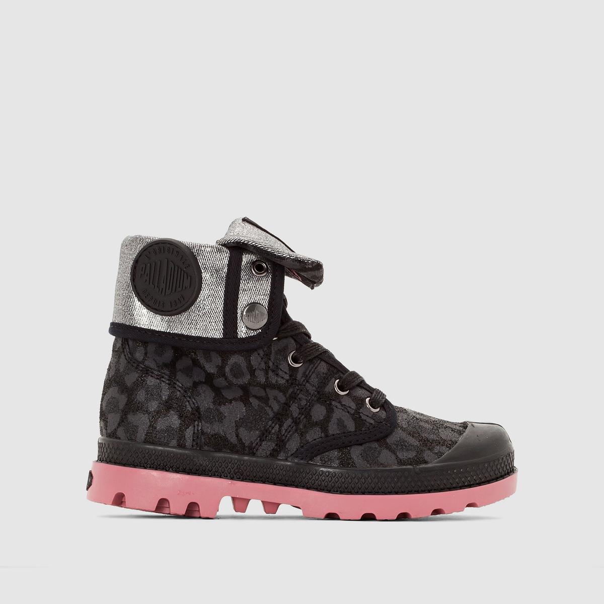 Botas com estampado leopardo 74653 BAGGY LEO K