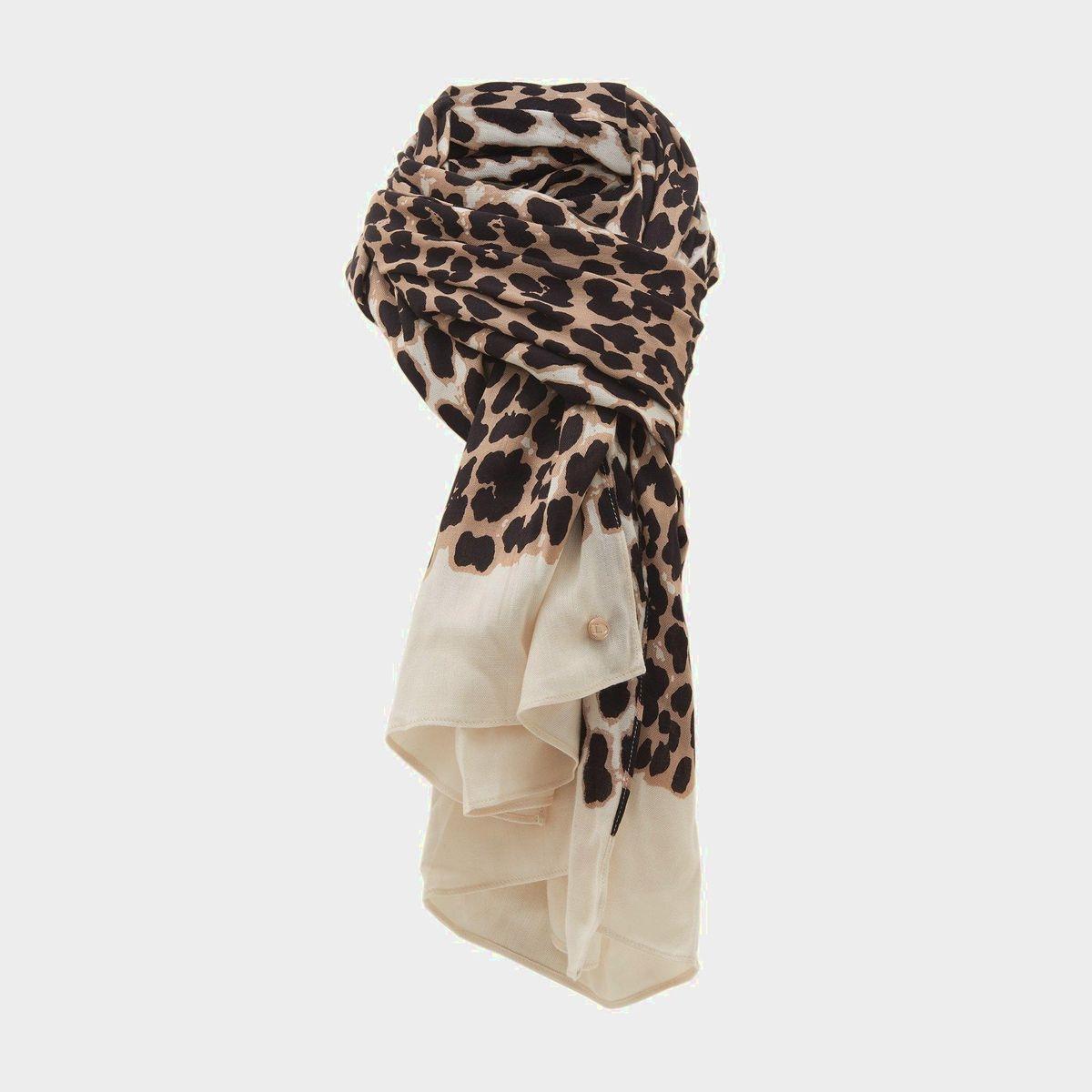 Écharpe à imprimé léopard - LILA