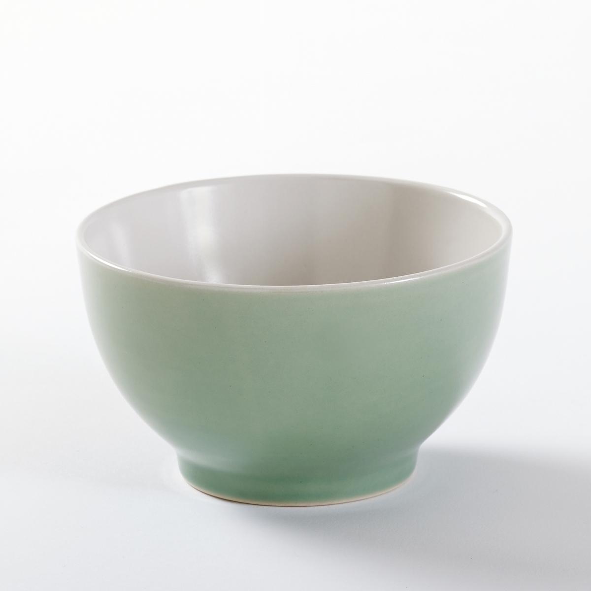 Комплект из 4 пиал из керамики, DEONIE комплект из 4 глубоких тарелок из керамики deonie