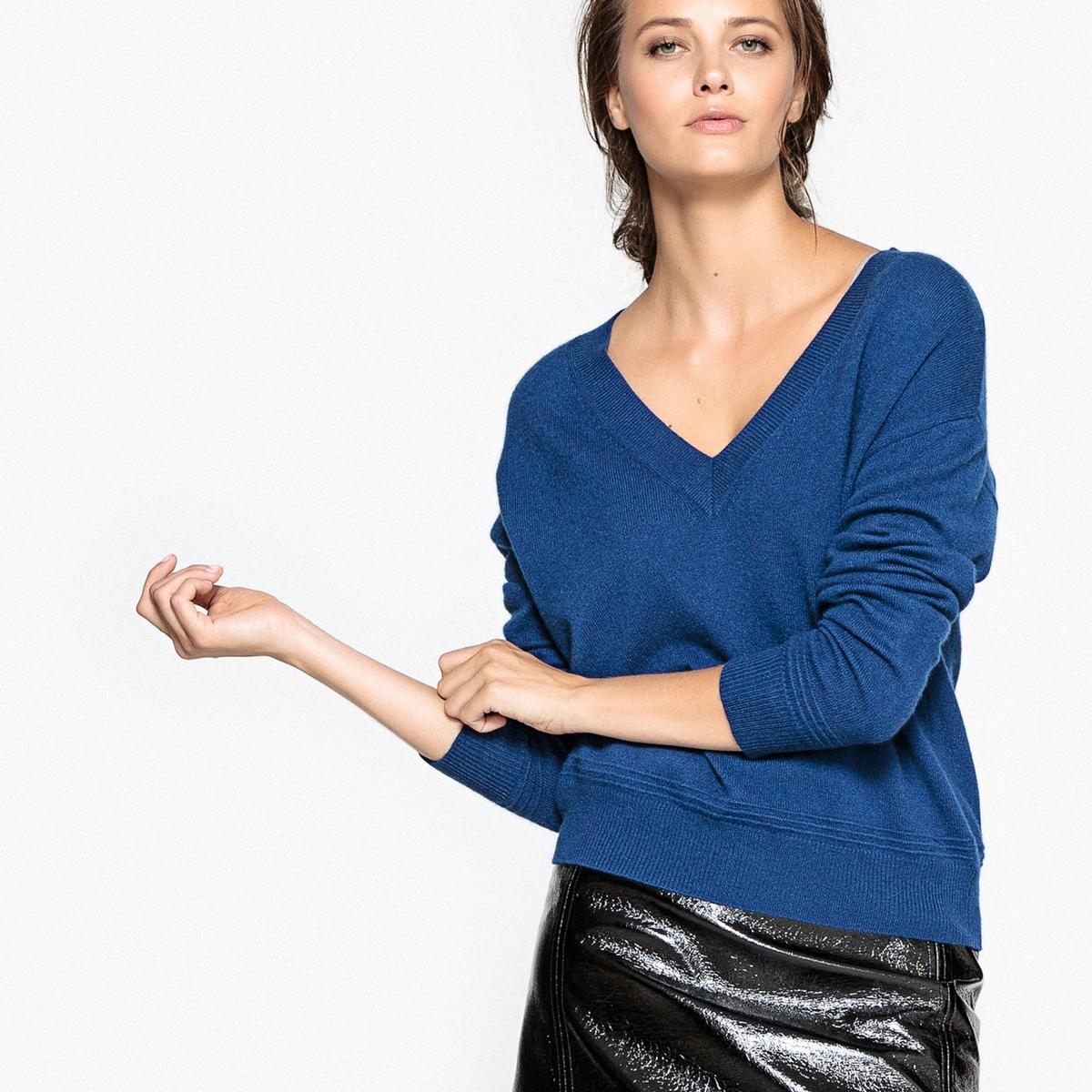 Пуловер из 100% кашемираДетали  •  Длинные рукава  •  Круглый вырез •  Тонкий трикотаж Состав и уход  •  100% кашемир •  Ручная стирка  •  Сухая чистка и отбеливание запрещены    •  Не использовать барабанную сушку •  Низкая температура глажки<br><br>Цвет: серый меланж,темно-бежевый,темно-синий,ультрафиолет<br>Размер: L.M.S.XXL.M.L.L.M.XL.XXL.S.S.S.XXL.XL.XXL.XL.L.M