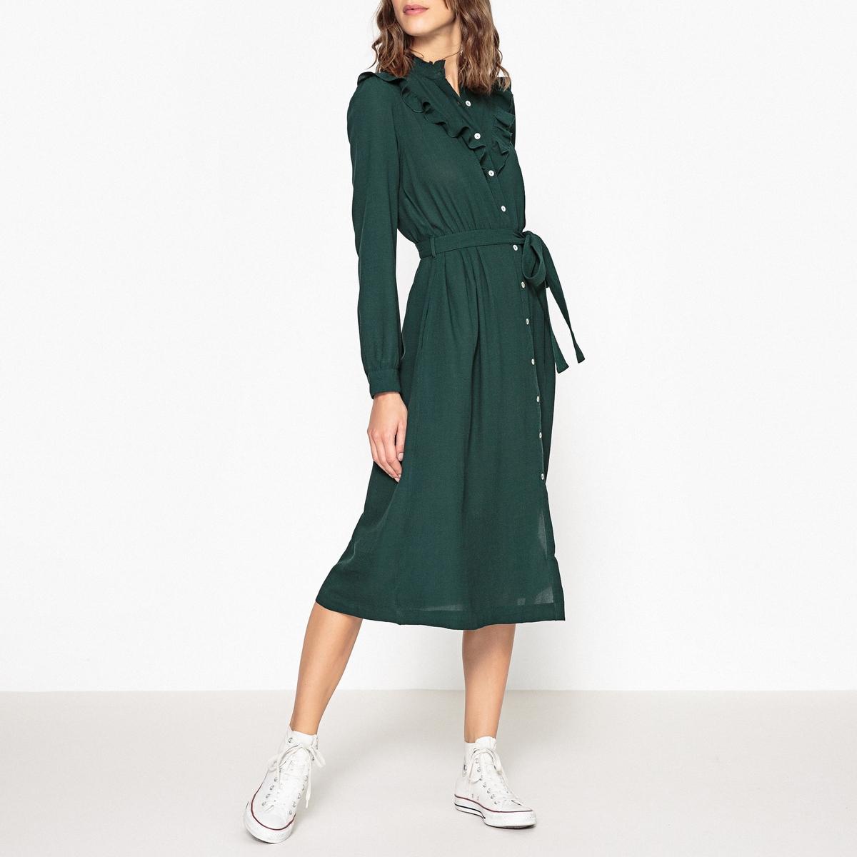 Платье на пуговицах REJEANNE