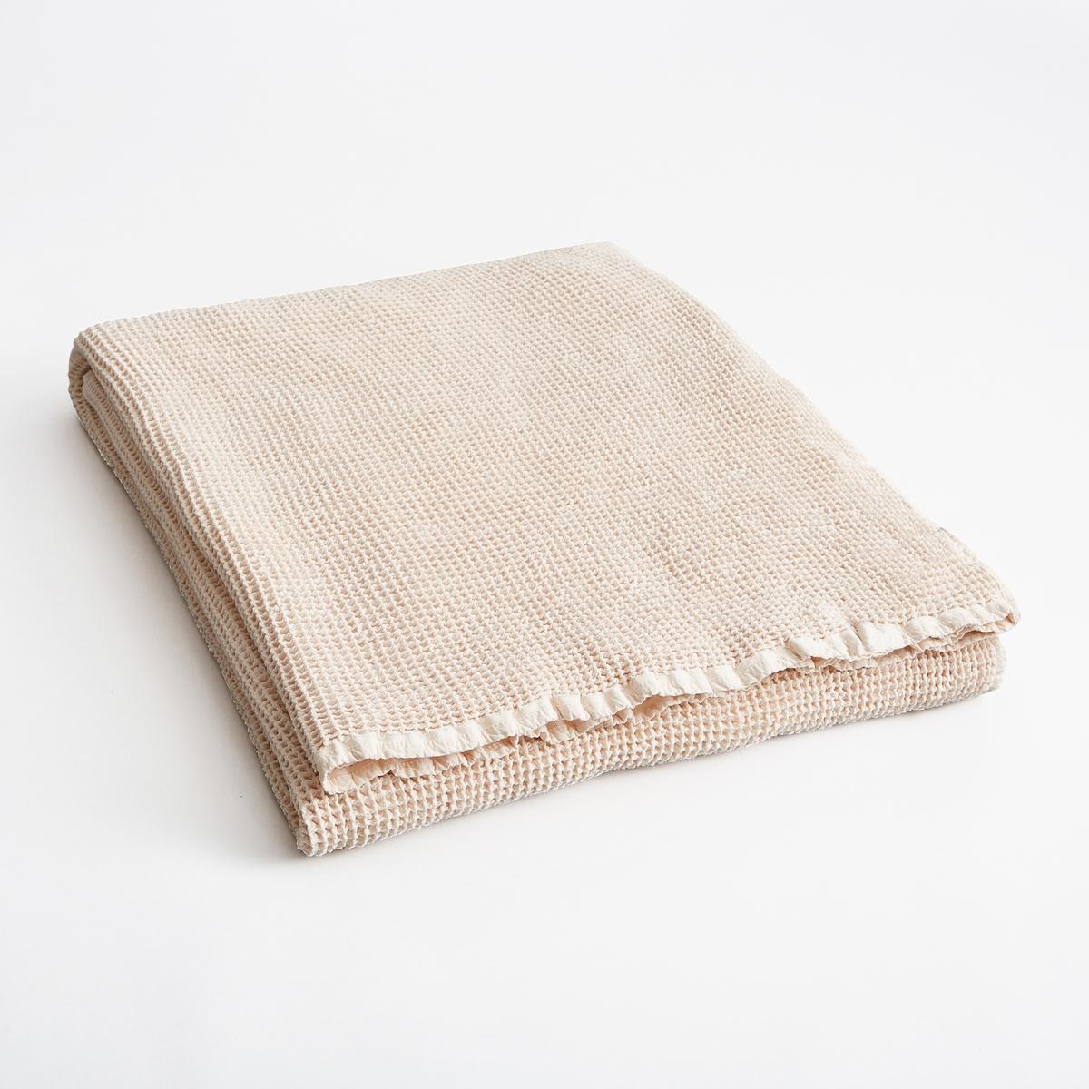 Плед из вафельной ткани NaranjoПлед Naranjo. Мягкий 100% хлопок, красивая вафельная ткань. Кант 1 см. Машинная стирка при 40 °C. Размеры : 180 x 230 см.<br><br>Цвет: бледно-розовый