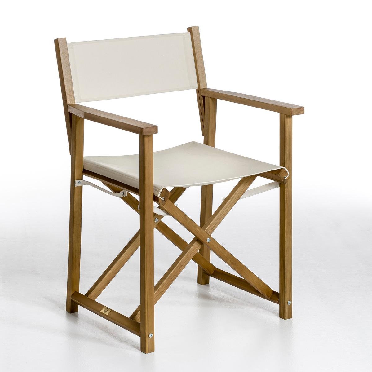 Кресло режиссерское AlfredКресло Alfred. Это складное кресло пригодится как внутри помещения, так и снаружи. Характеристики: : - Структура из акации цвета тикового дерева, покрытие олифой. - Ткань, 100% хлопка со специальной обработкой для использования на улице. - Доставка с собранном видеРазмеры : - Шир. 59 x Выс. 85 x Гл. 54 см. - Сиденье : Шир. 46 x Выс. 47 x Гл. 45 см.    Размеры и вес упаковки : - Шир. 8 x Выс. 25 x Гл. 58 см, 6 кг:!! .<br><br>Цвет: экрю