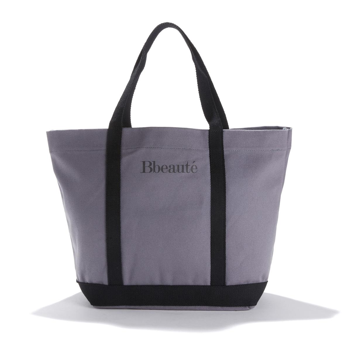 Сумка-шоппер среднего размера с надписью Bbeauté