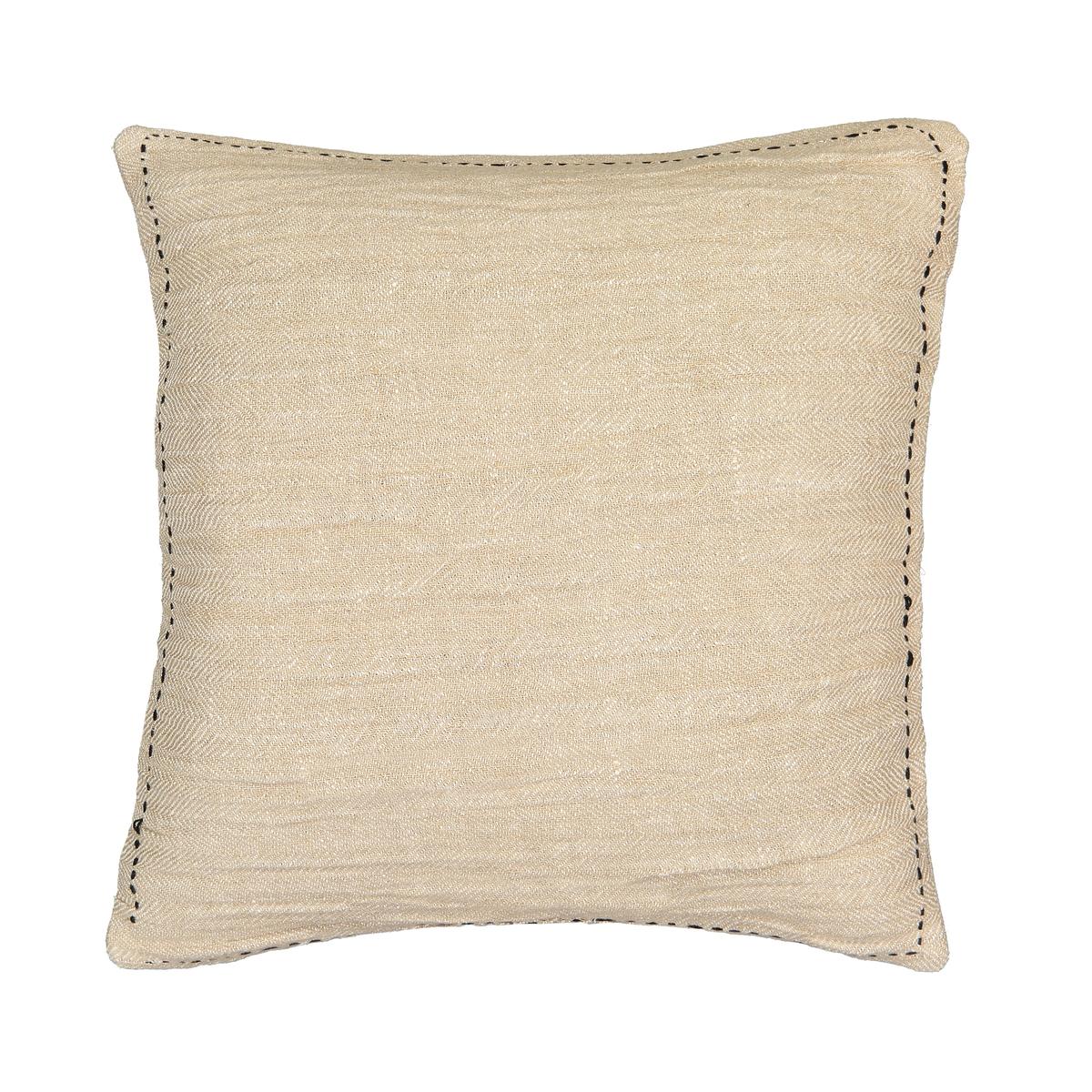 Чехол La Redoute На подушку с рисунком из льна Tasha 45 x 45 см бежевый комплект из салфеток из la redoute льна и хлопка border 45 x 45 см бежевый
