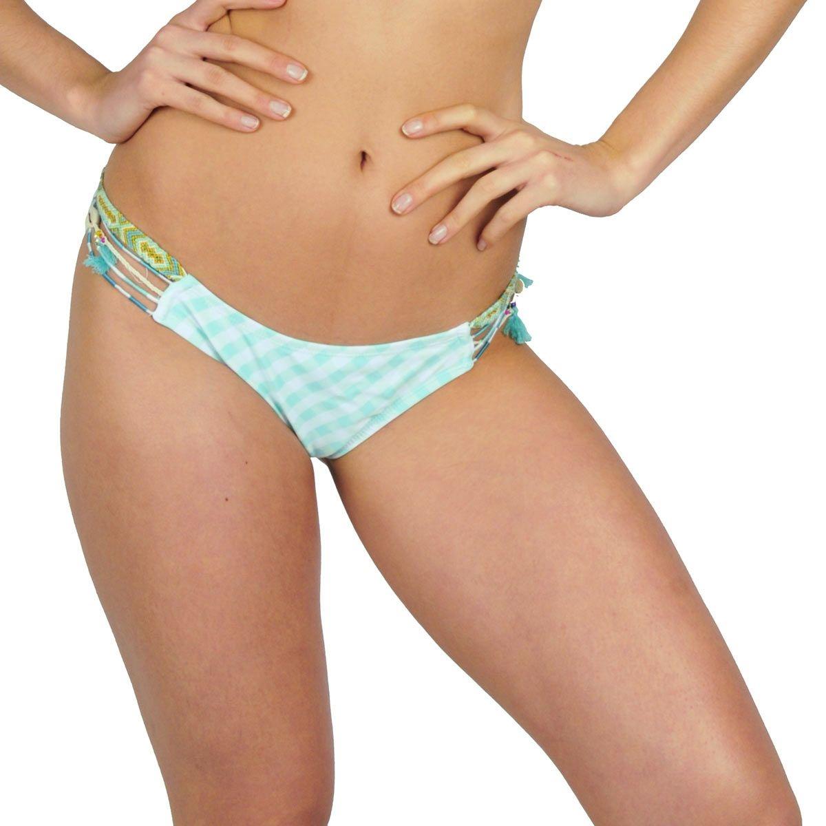Maillot de bain culotte verte BB (Bas)