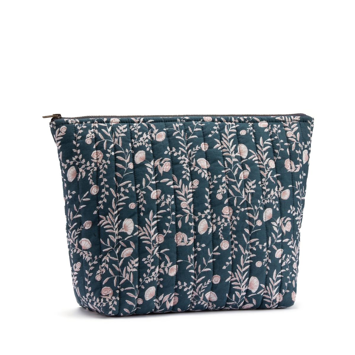 An image of Vimala Cotton Toilet Bag by La Redoute