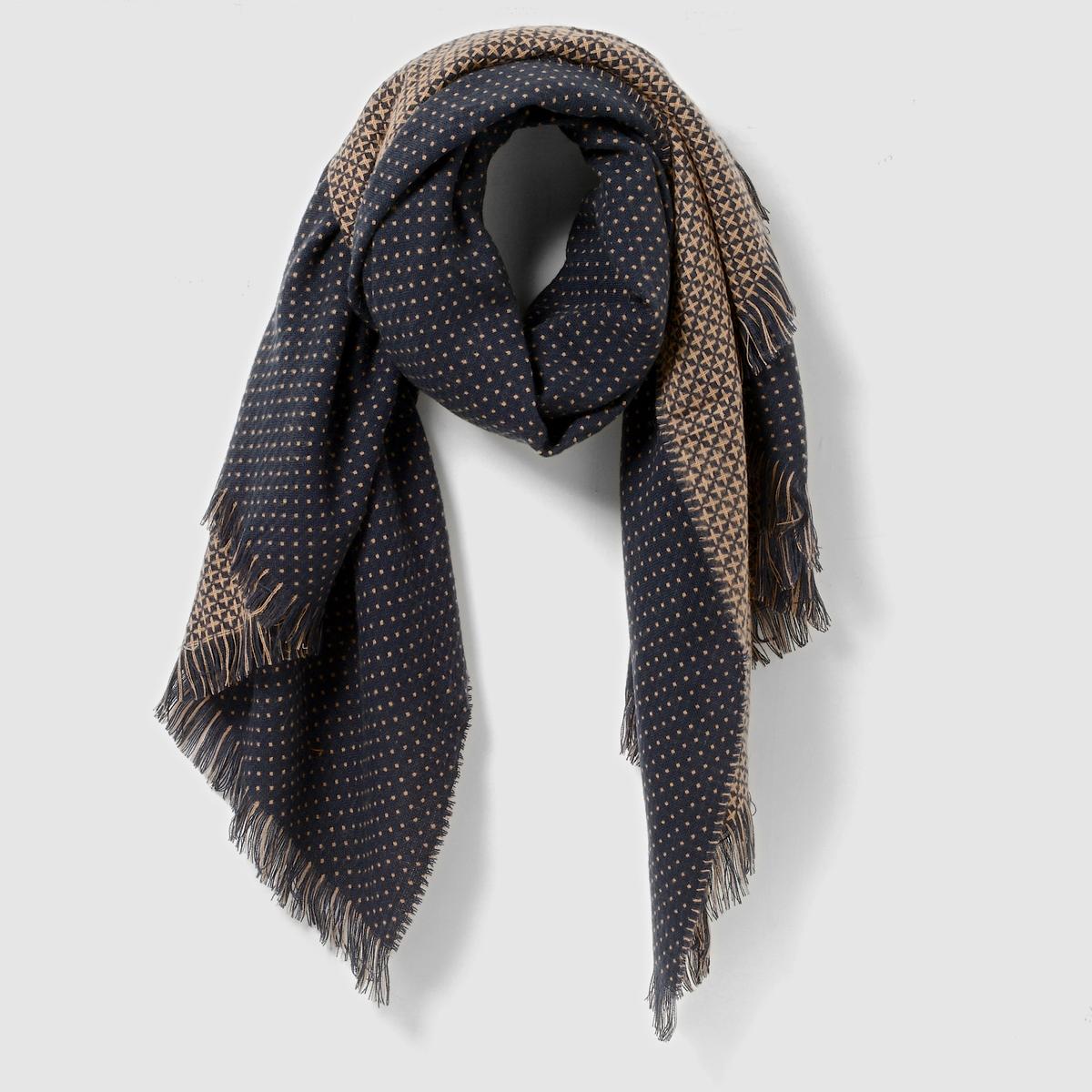 Шарф с рисунком - R studioПреимущества : Этот оригинальный шарф придаст Вашему внешнему виду особую изюминку.<br><br>Цвет: зеленый<br>Размер: единый размер