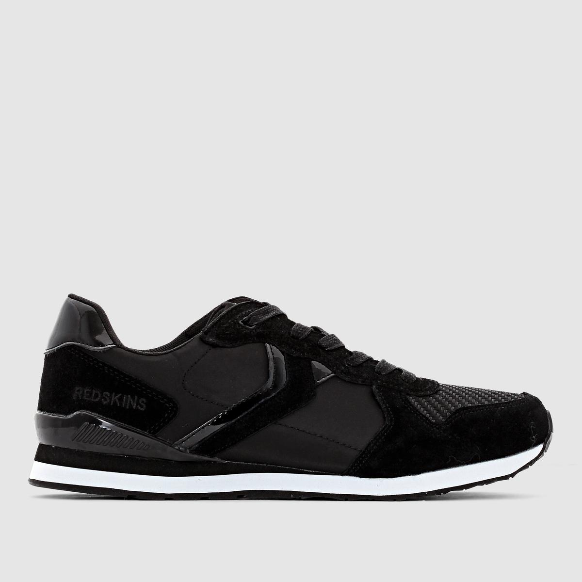 Кроссовки низкие Redskins JUBINOМарка Redskins, владея искусством смешивать разные стили, не теряя при этом индивидуальность, присущую каждой ее коллекции, предлагает нам обувь в свободном и непринужденном стиле. Воспользуйтесь этим, остановившись на модели Jubino!<br><br>Цвет: черный<br>Размер: 45