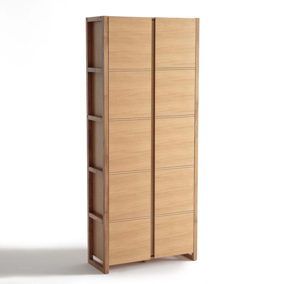 Шкаф LaRedoute Книжный COMPO единый размер каштановый