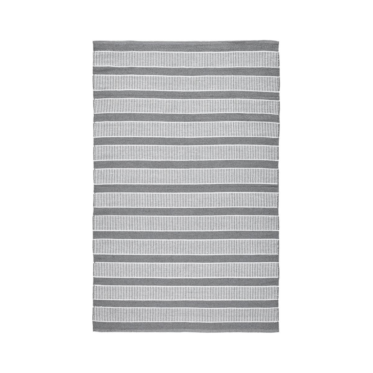 цена Ковер La Redoute Linky для использования как внутри помещения так и снаружи 120 x 180 см серый онлайн в 2017 году