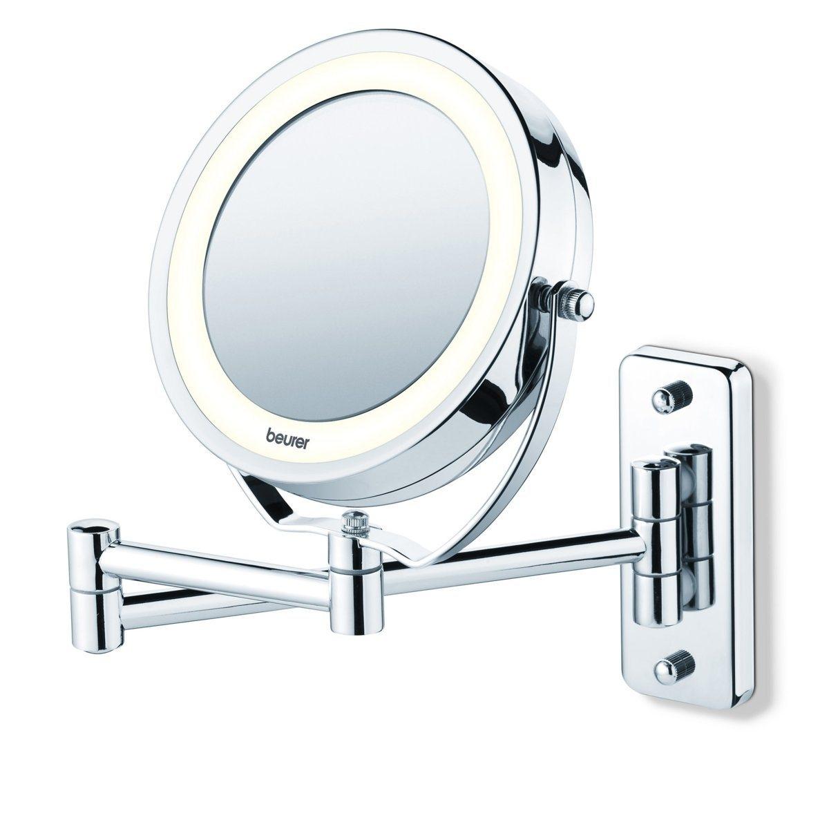 Зеркало косметическое с подсветкой BS59 зеркало косметическое la geer со стразами 61288