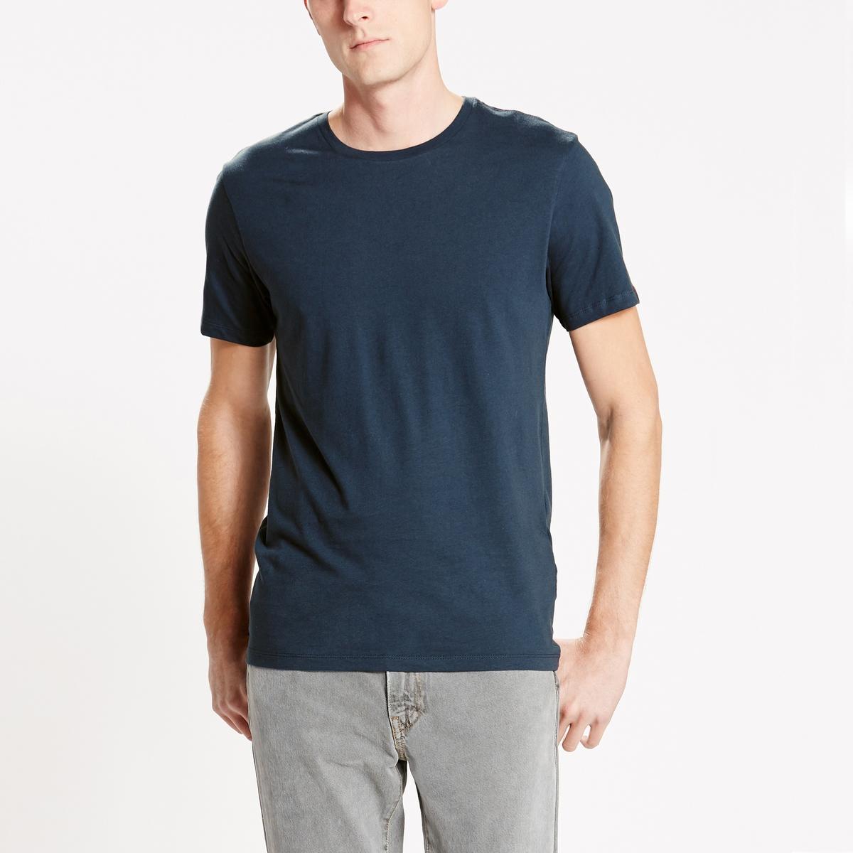 Confezione da 2 T-shirt a maniche corte con scollo rotondo