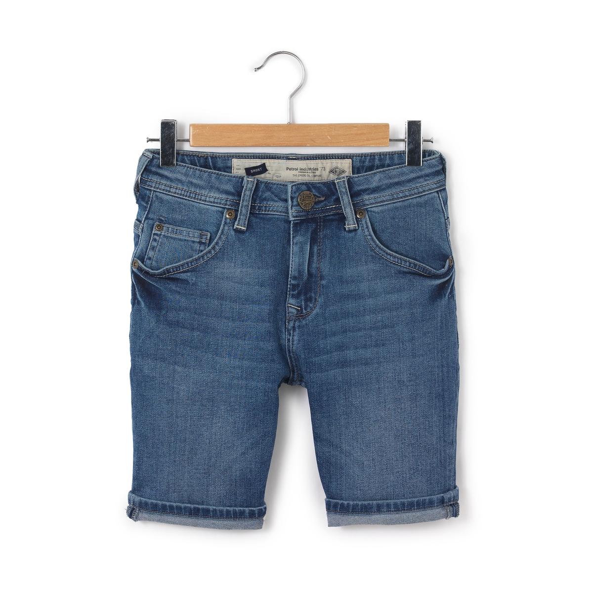 Бермуды джинсовые,  8-16 лет от La Redoute