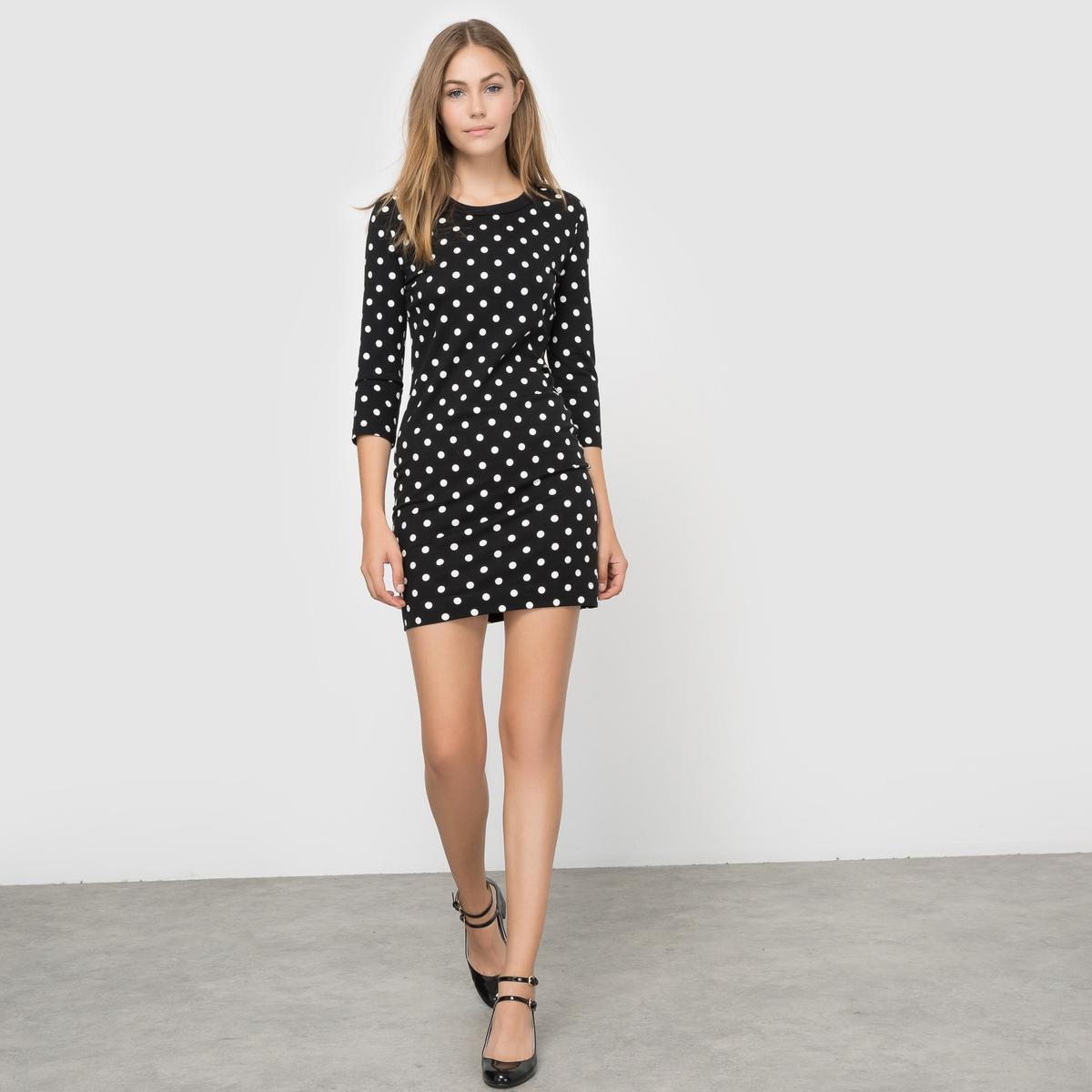 FRENCH CONNECTION Платье в горошек