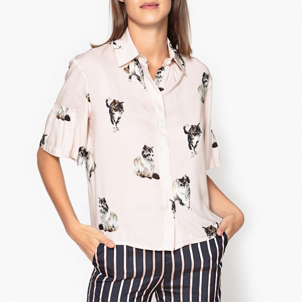 Рубашка с рукавами 3/4 POPPINS helen williams paul and virginia