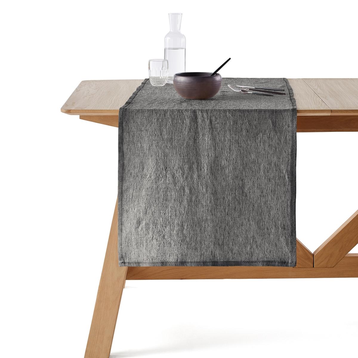 Столовая дорожка из льна 52x150 см, Chandraki дорожка столовая éventail