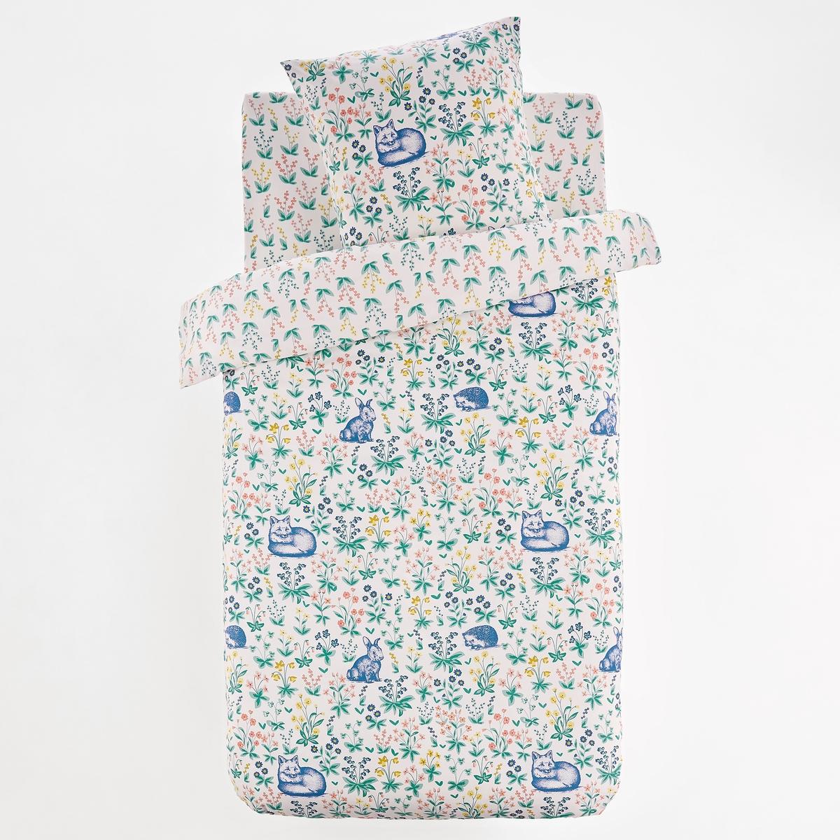 цена Пододеяльник La Redoute Детский ADLAIDE 140 x 200 см белый онлайн в 2017 году