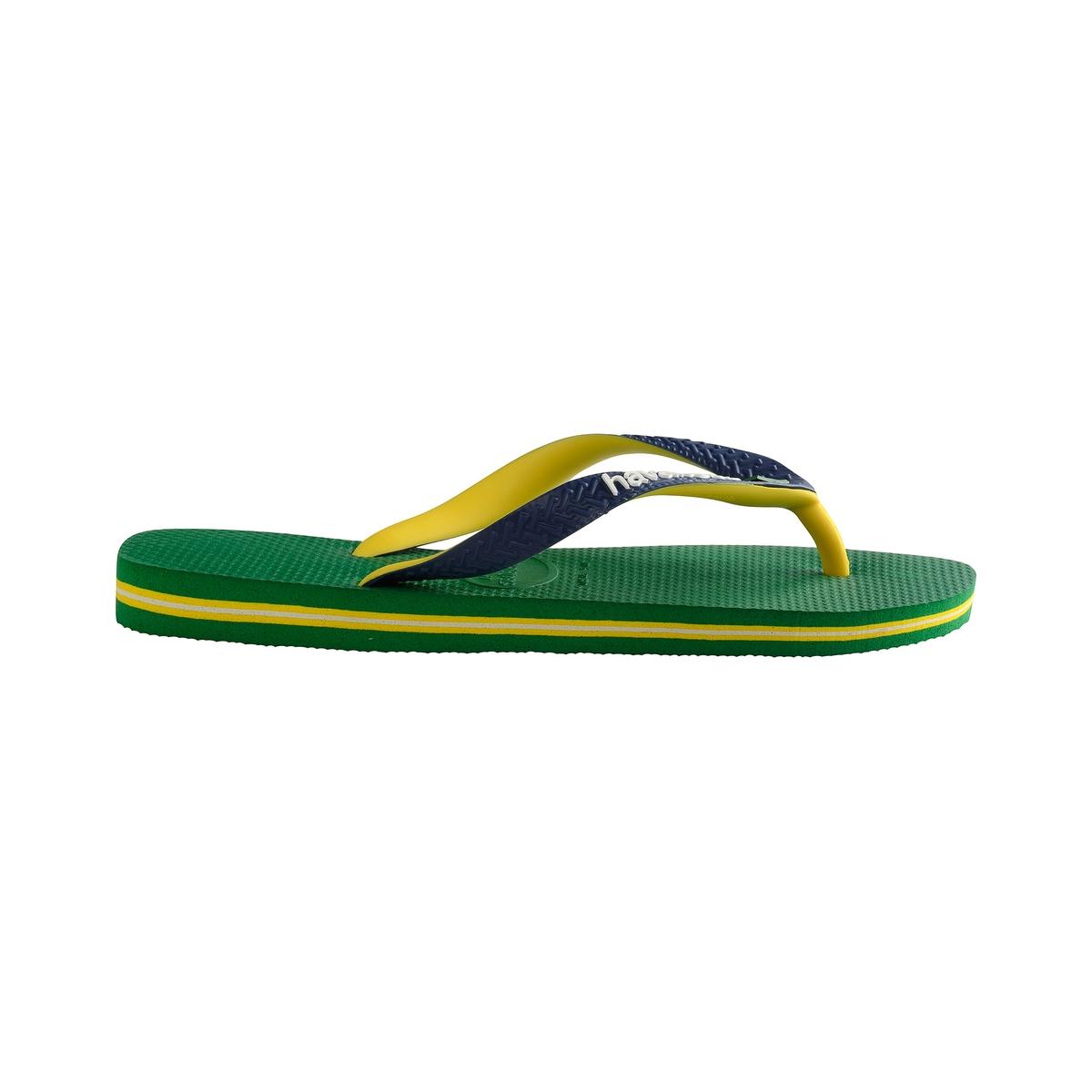 Вьетнамки Brasil MixВерх/Голенище : каучук   Стелька : каучук   Подошва : каучук   Форма каблука : плоский каблук   Мысок : открытый мысок   Застежка : без застежки<br><br>Цвет: зеленый<br>Размер: 45/46