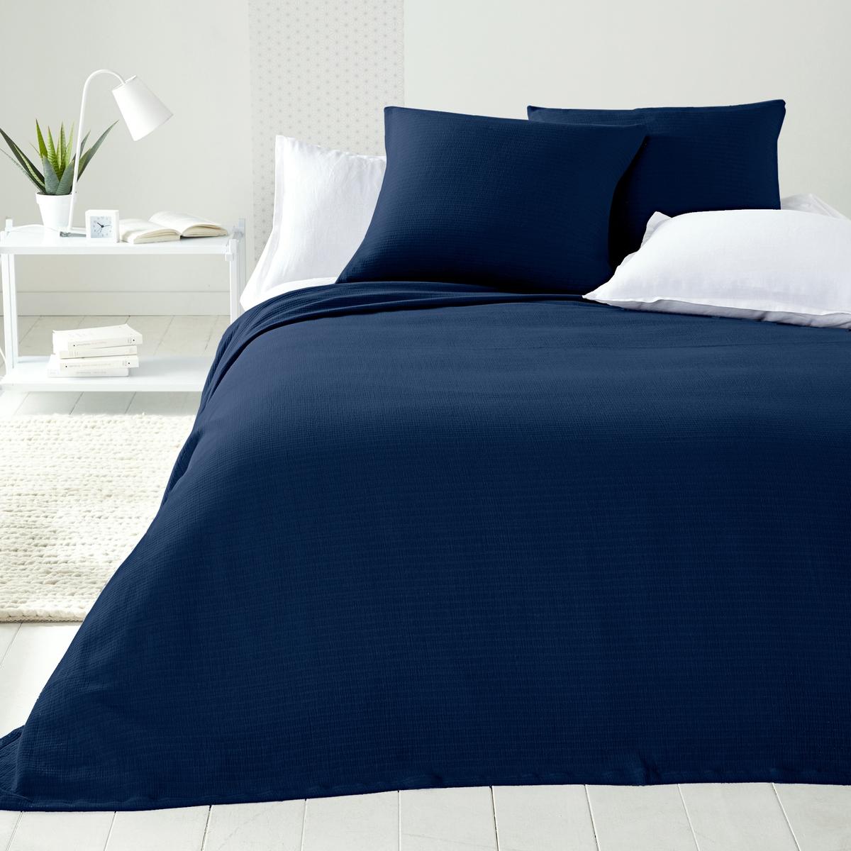 Покрывало La Redoute Для кровати Ihlow 150 x 150 см синий кровати 180 см