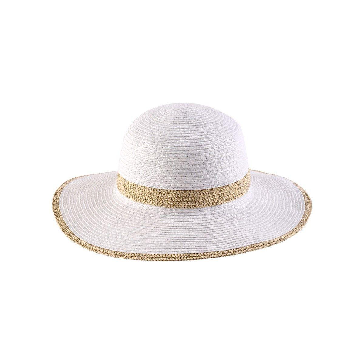 Chapeau capeline cérémonie 100% sisal