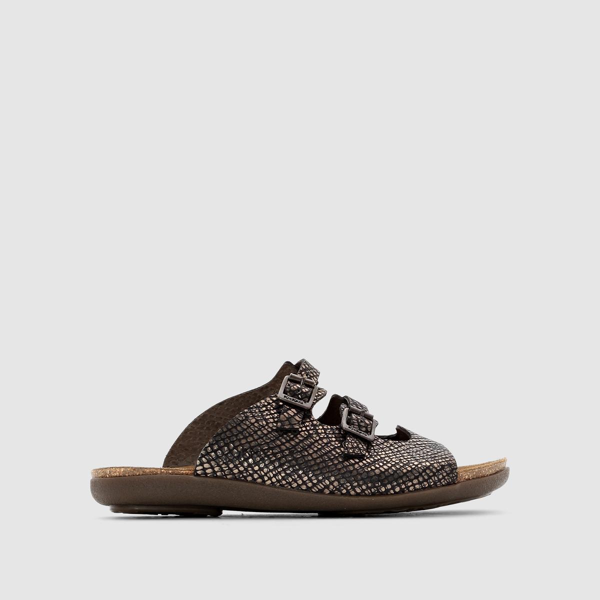KICKERS Туфли без задника Atchoum 2, из плетеной кожи