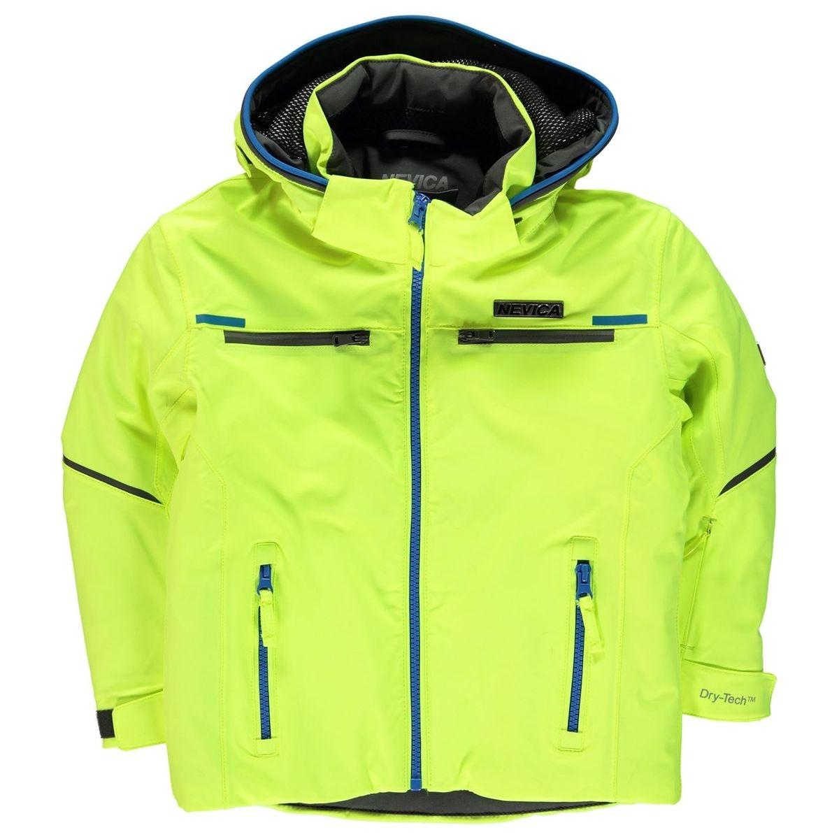 Ski veste à capuche